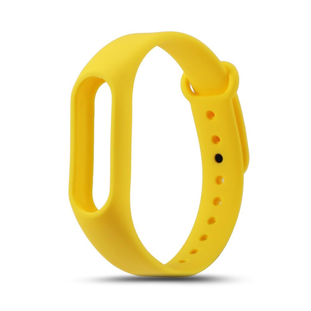 Náhradní náramek pro Xiaomi Mi Band 2 Barva: Žlutá