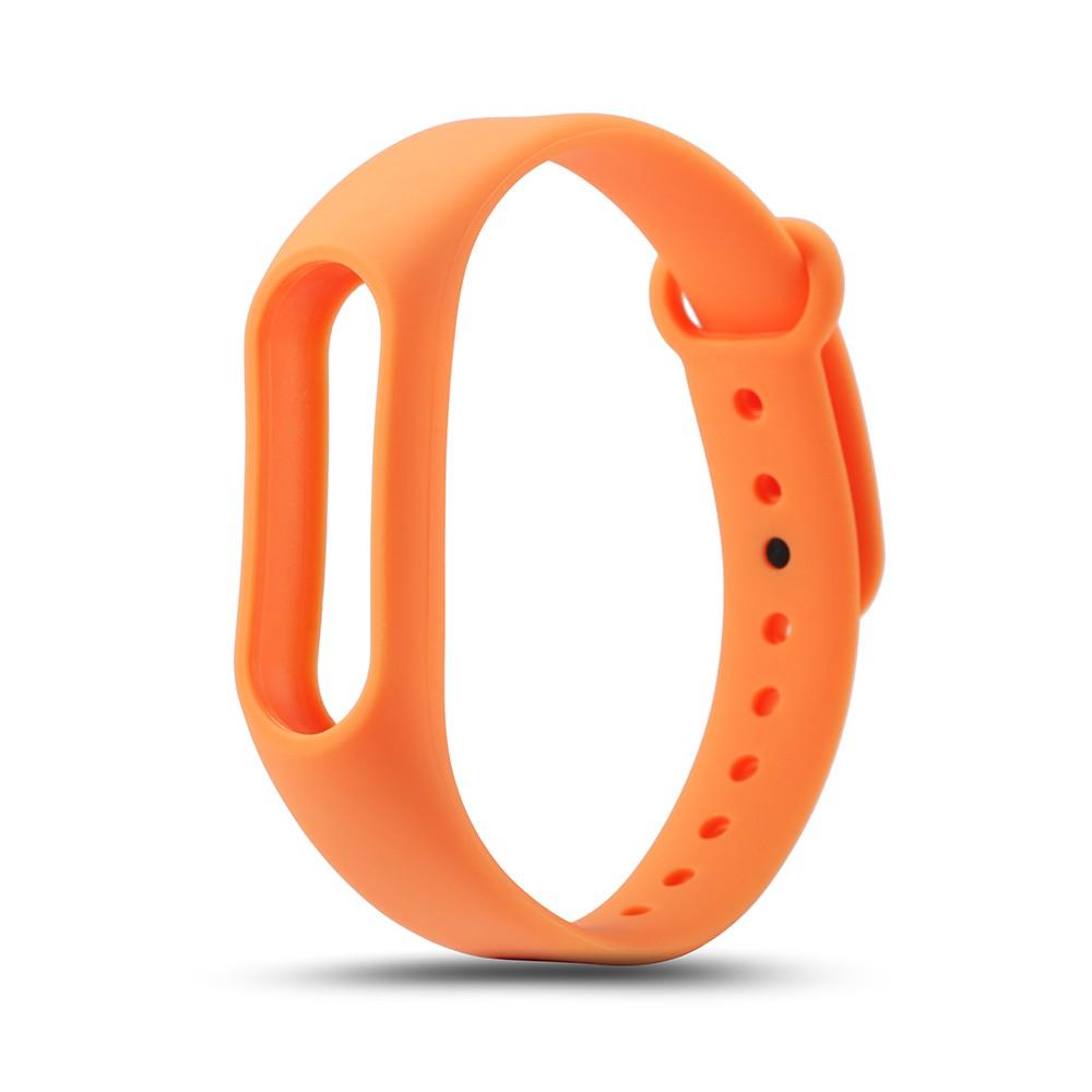 Náhradní náramek pro Xiaomi Mi Band 2 Barva: Oranžová