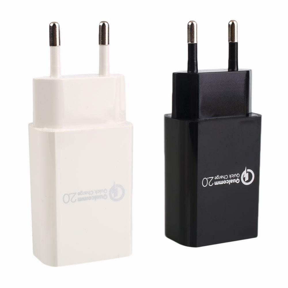 Rychlonabíječka PT01 Qualcomm Quick Charge 2.0 5V/9V/12V 15W Barva: Bílá