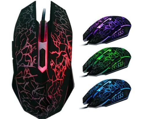 Herní myš Malloom 6D, drátová s RGB podsvícením, až 4000DPI