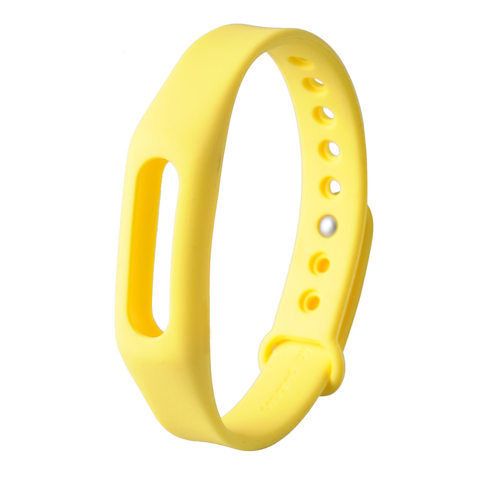 Náhradní náramek pro Xiaomi Mi Band 1/1A/1S Barva: Žlutá