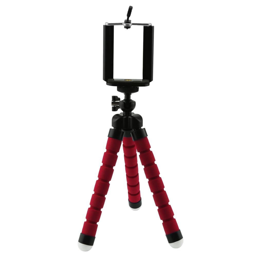 Univerzální flexibilní stativ na mobil Barva: Červená