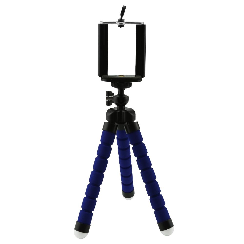 Univerzální flexibilní stativ na mobil Barva: Modrá