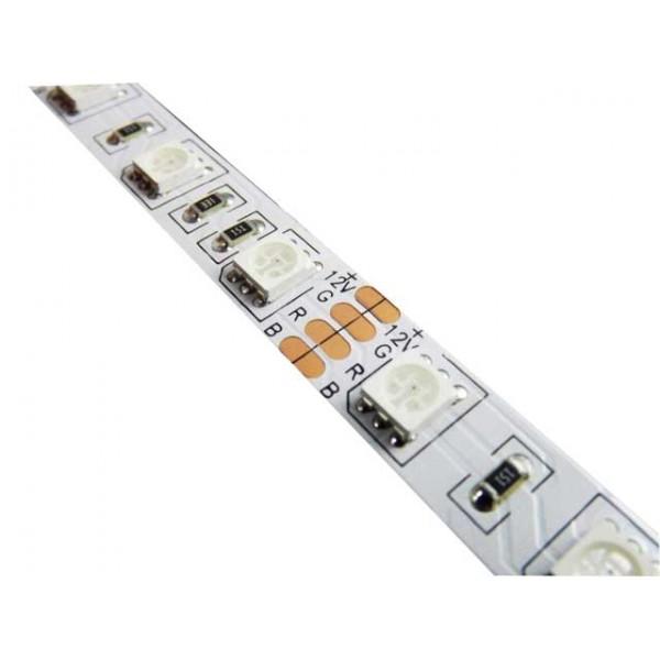 RGB LED pásek 5050, 60 diod/m, 1m