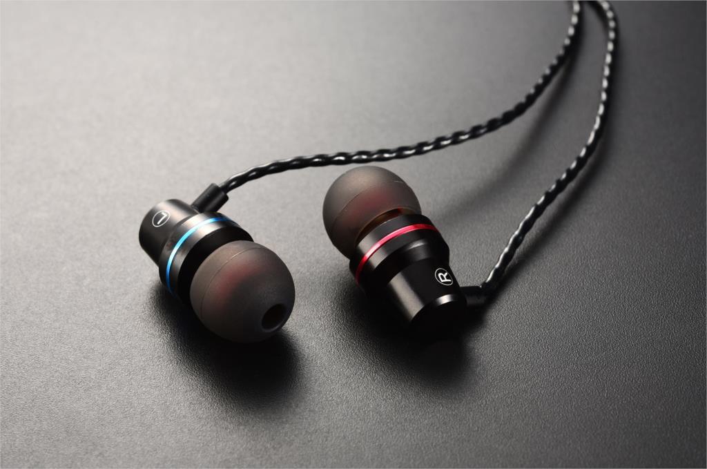 Headset QKZ DM1 s mikrofonem Barva: Černá
