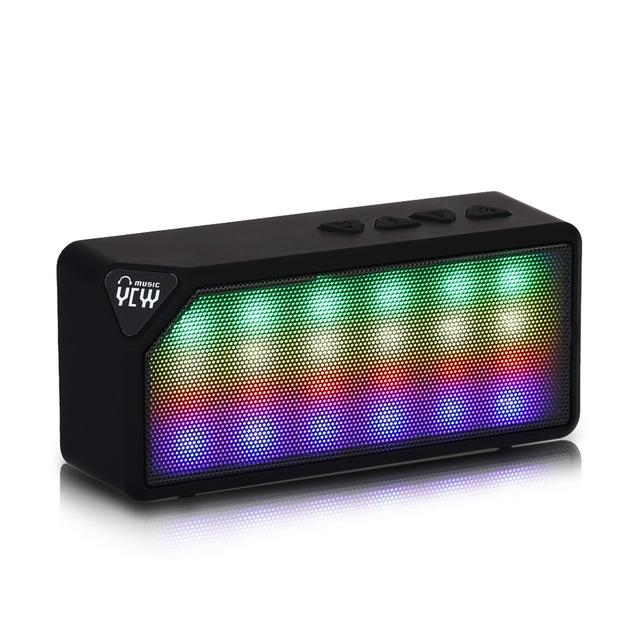 Bluetooth reproduktor YCYY X3S Barva: Černá