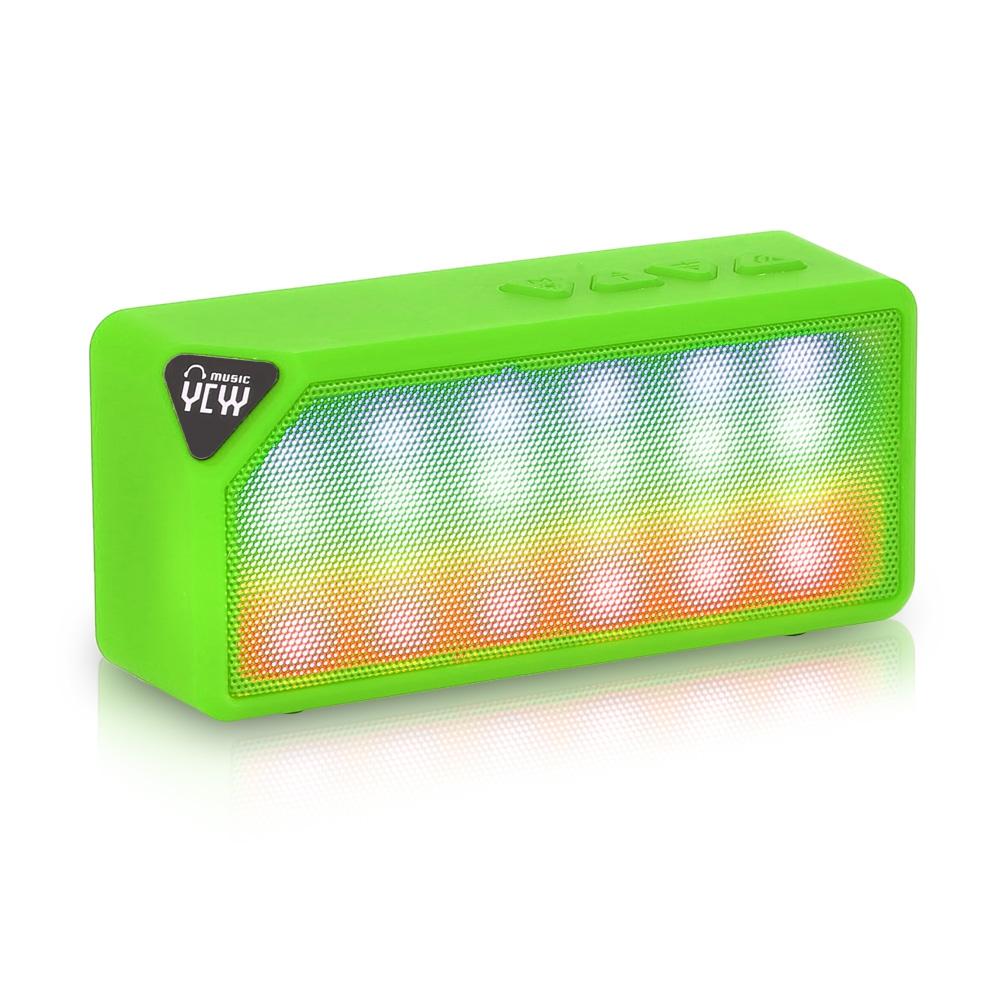 Bluetooth reproduktor YCYY X3S Barva: Zelená