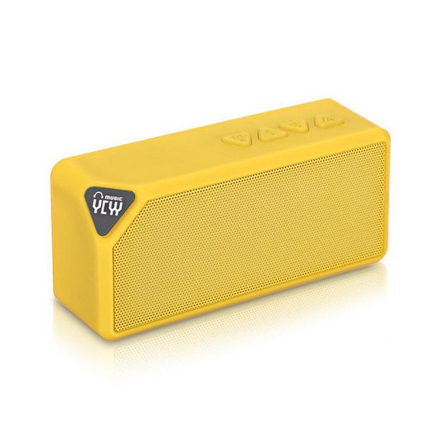 Bluetooth reproduktor YCYY X3S Barva: Žlutá
