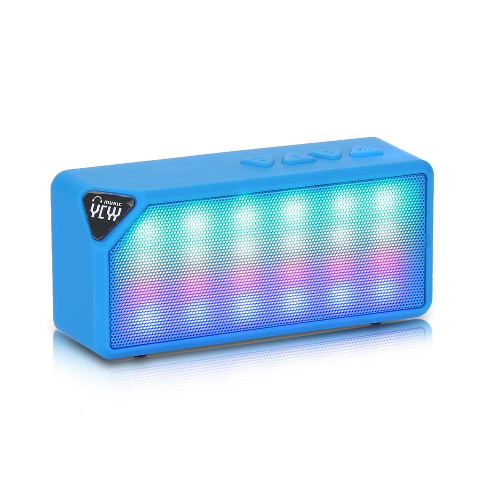 Bluetooth reproduktor YCYY X3S Barva: Modrá