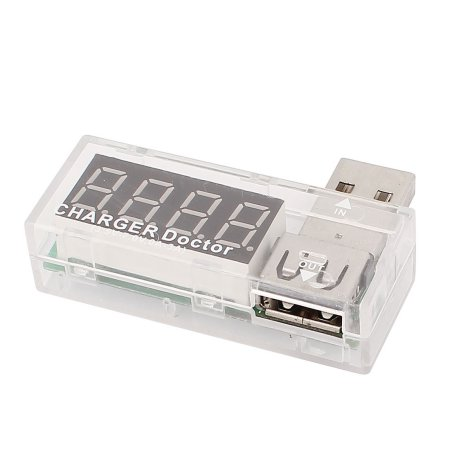 USB měřič proudu a napětí Barva: Bílá