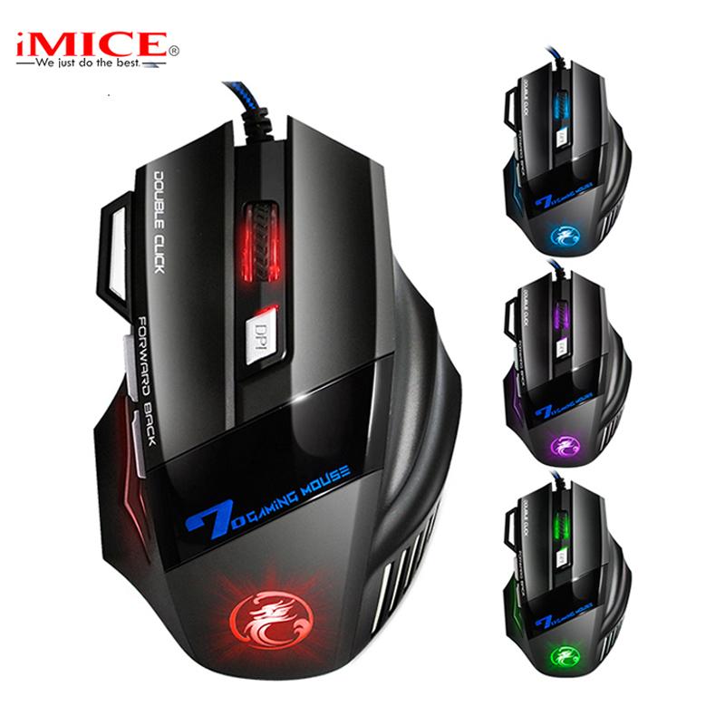 9506fe82ee0 Herní myš iMice X7 Gaming s Double Click a RGB podsvícením