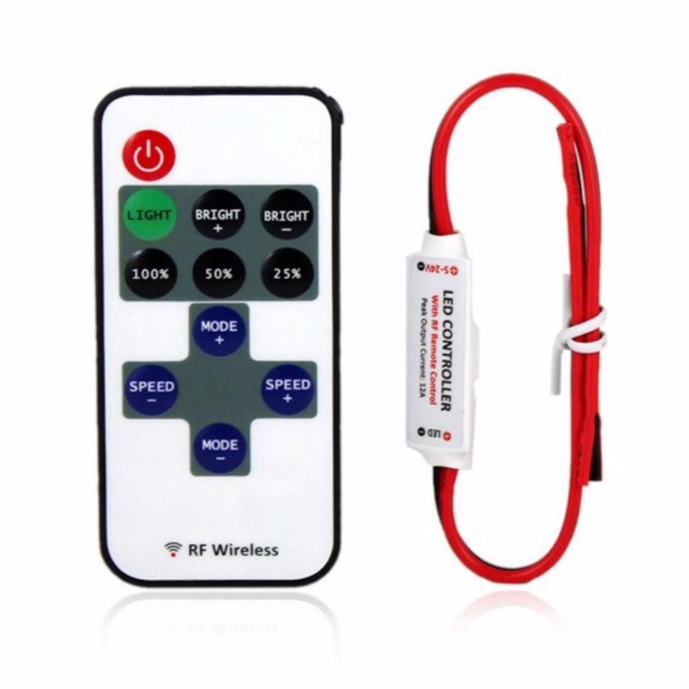 Bezdrátový stmívač pro jednobarevný LED pásek