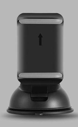 Univerzální držák do auta pro mobilní telefon ESVNE 360° Barva: Černá
