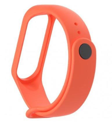 Náhradní náramek pro Xiaomi Mi Band 3 Barva: Oranžová