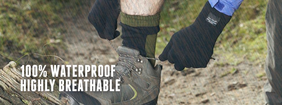 nepremokavé ponožky dexshell