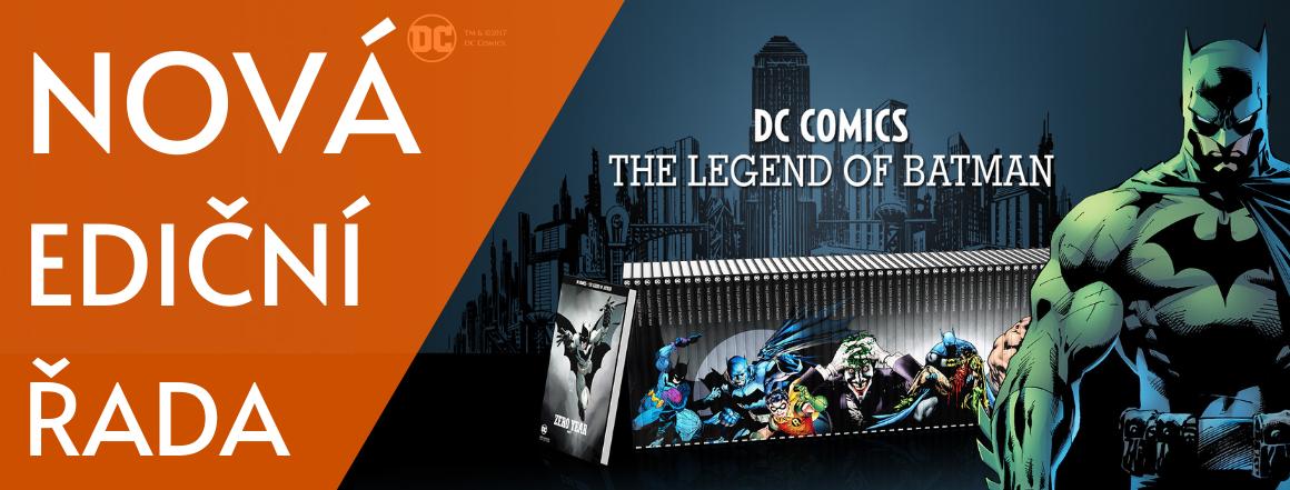 Nová ediční řada Legenda o Batmanovi