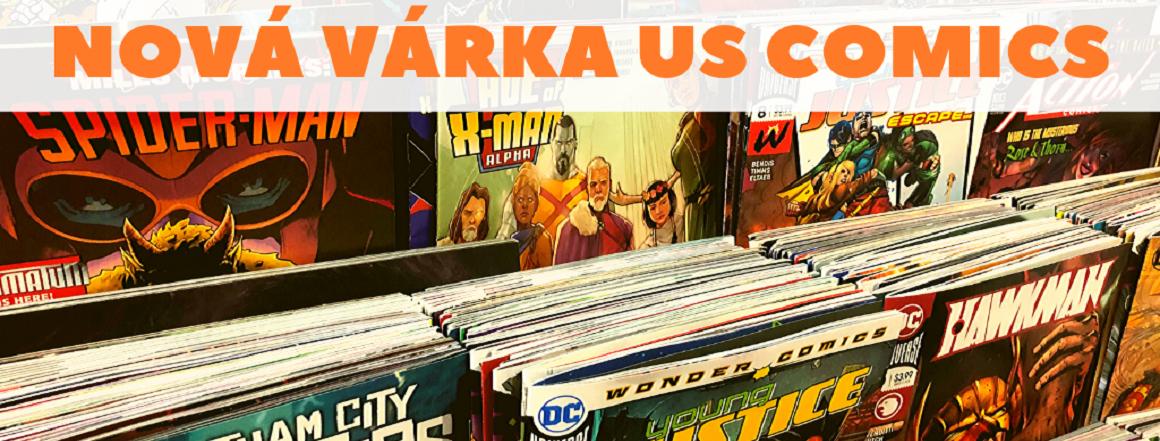 Nová várka US Comics!