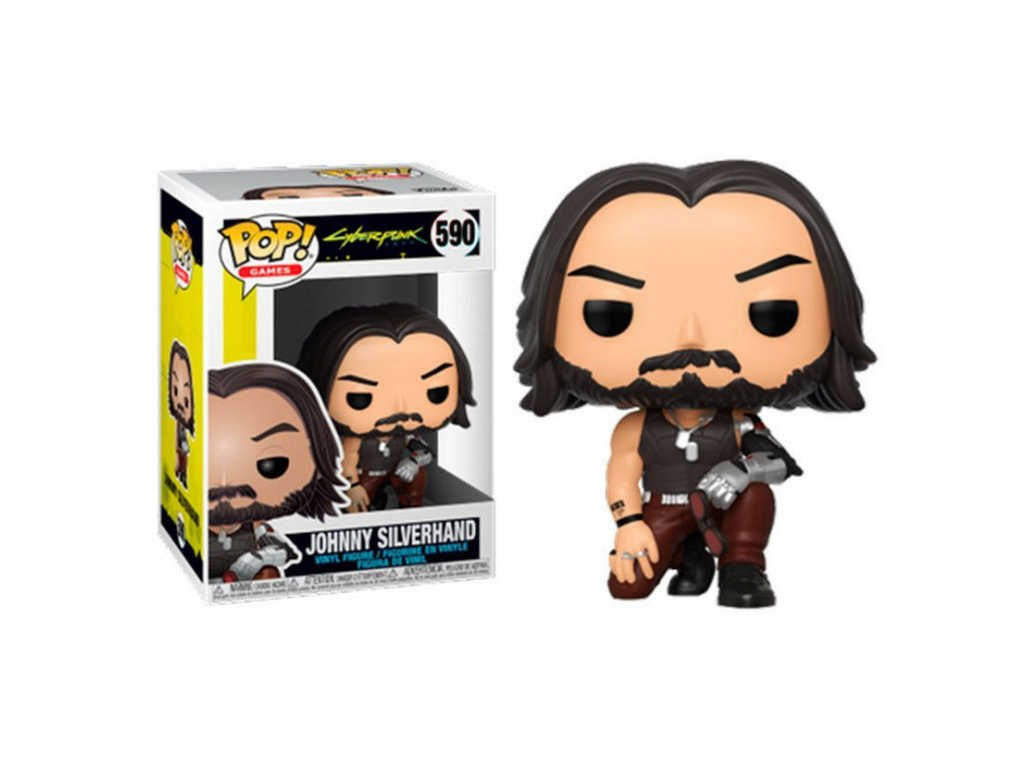 pop figure cyberpunk 2077 johnny silverhand