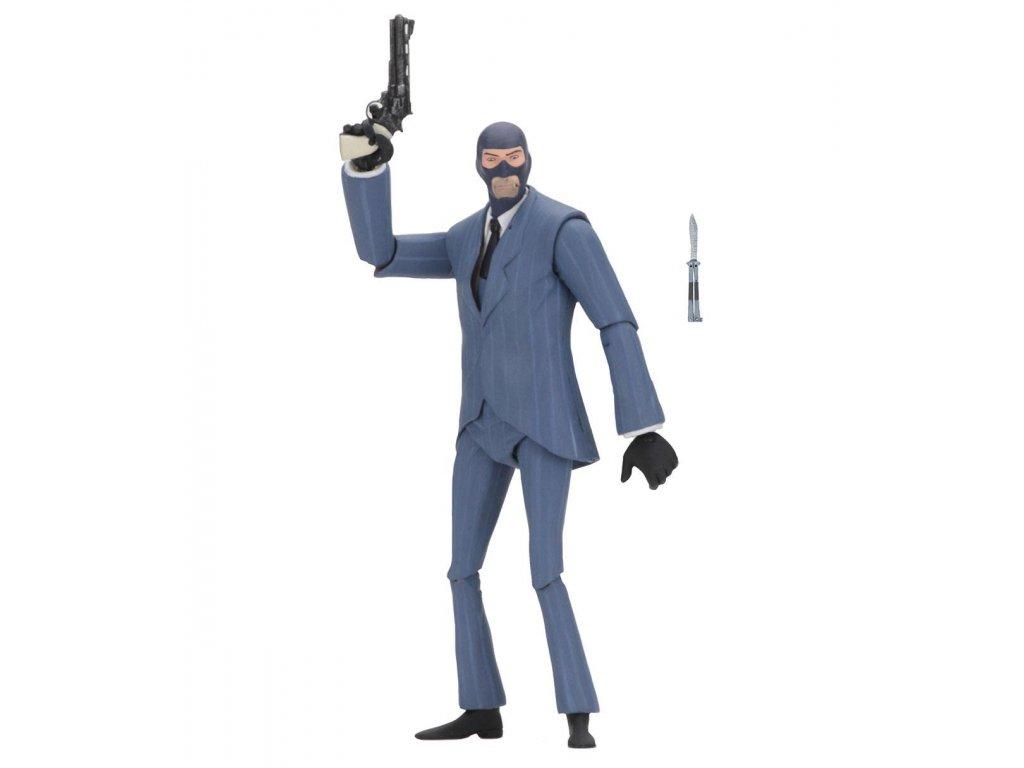 Figurka: BLU Spy - Team Fortress Series 3,5