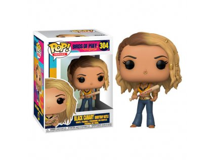 Figurka POP: Black Canary Boobytrap Battle – Birds of Prey