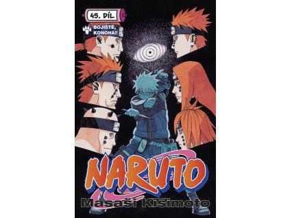 Naruto #45: Bojiště, Konoha!!
