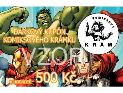 darkovy kupon 500
