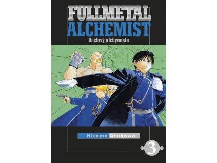Fullmetal Alchemist - Ocelový alchymista #03