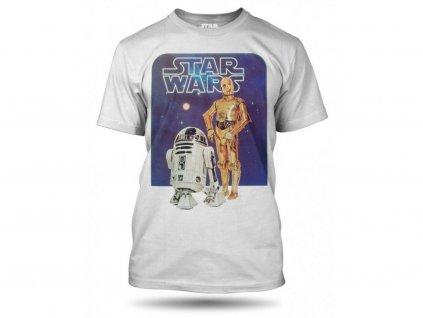 Tričko: Star Wars – C3PO a R2D2
