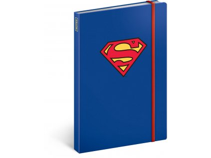 notes superman symbol linkovany 13 x 21 cm 65553 15