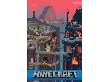 minecraft world beyond maxi poster 1.133