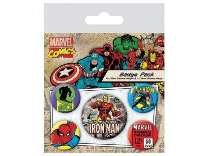 sada placek marvel comics iron man 5 ks 5f4dc4ea2199b