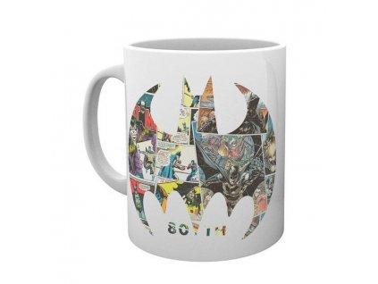 dc comics batman comic symbol mug