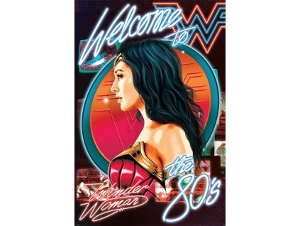 py pp34639 wonder woman 1984 welcome to the 80s poster