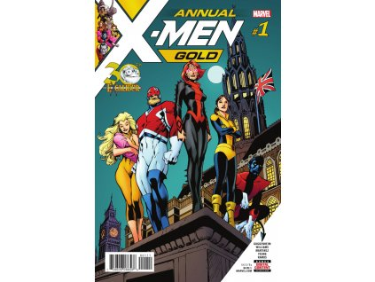 X-Men Gold ANNUAL #001