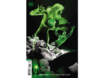Green Lanterns #047 /variant cover/
