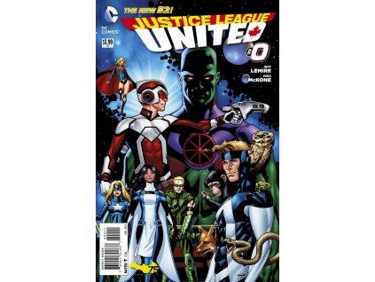 Justice League United #000
