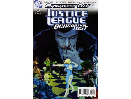 Justice League: Generation Lost #002