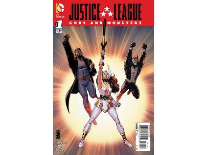 Justice League: Gods & Monsters #001