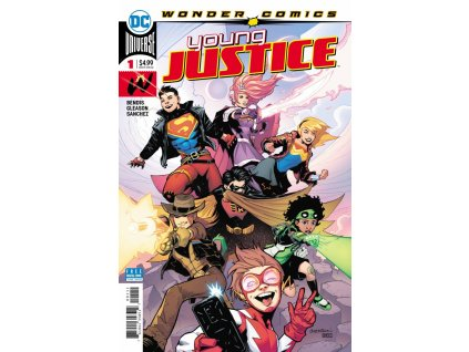 Young Justice #001