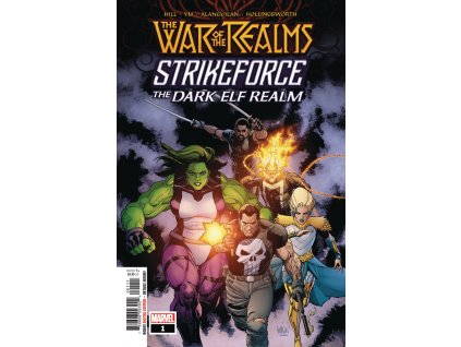 War Of The Realms Strikeforce: The Dark Elf Realm