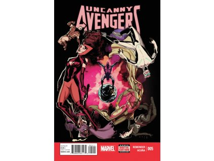 Uncanny Avengers #005