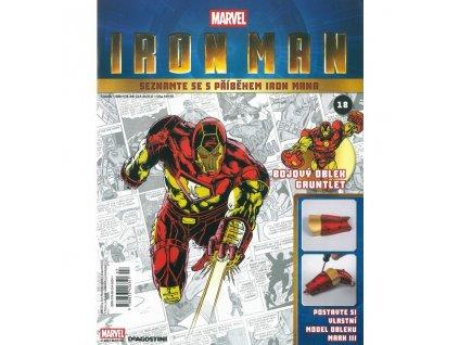 Figurka - stavebnice: IRON MAN #018 (časopis s přílohou)