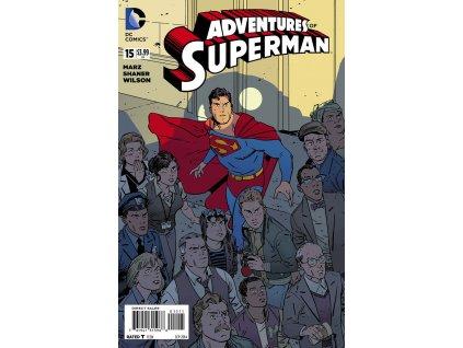 Adventures of Superman #015
