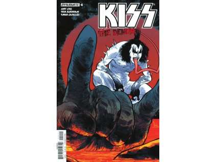 Kiss: The Demon #004