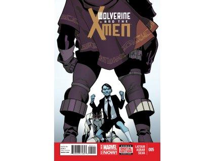 Wolverine & the X-Men #005