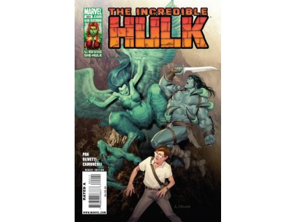Incredible Hulk #604