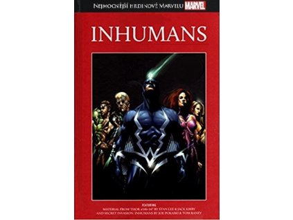 NHM #030: Inhumans /poškozený kus/
