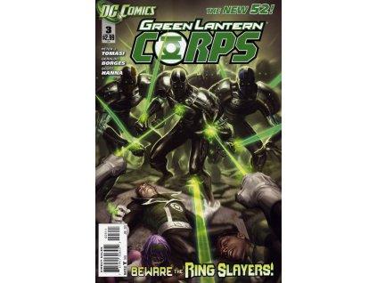 Green Lantern Corps #003