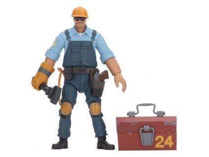 Figurka: BLU Engineer - Team Fortress Series 3,5