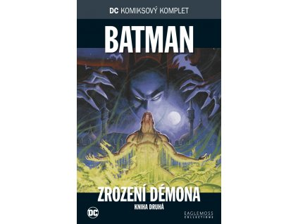 DCKK #037: Batman - Zrození démona, kniha druhá (rozbaleno)